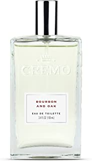 Cremo Cologne Spray, Bourbon & Oak, 3.4 Ounce