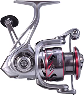 Cadence Spinning Reel, CS7 Strong Aluminum Frame Fishing Reel with 10 Durable & Corrosion Resistant Bearings for Saltwater or Freshwater,Super Smooth Powerful Reel with 29LBs Max Drag 6.2:1 Spin Reel