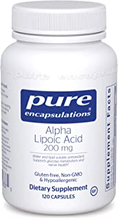 Pure Encapsulations Alpha Lipoic Acid 200 mg | ALA Supplement for Liver Support, Antioxidants, Nerve and Cardiovascular He...