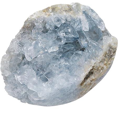 You Choose Home Decor Celestite Crystal Geode Sacred Space Celestine Crystal Geode Healing Crystals Mineral Specimen