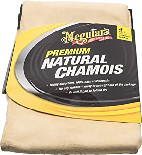 Meguiars Natural Chamois - Gamuza de badana