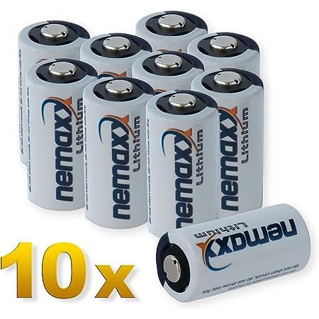 Nemaxx 3v Photo Lithium Batterie Cr123a Photobatterie Elektronik