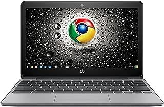 Premium High Performance HP 11.6-inch Chromebook Intel Celeron Dual-Core Processor 4GB RAM 16GB eMMC Hard Drive 802.11AC WIFI HDMI Webcam Bluetooth 12-hour Battery Chrome OS-Black