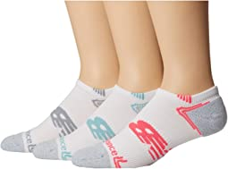 No Show Running Socks 3-Pair Pack