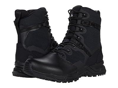 Original S.W.A.T. Alpha Fury 8 Side Zip Leather Toe