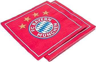 DanielFelix Bayern Munchen FC/ /Bestickt Authentic EPL Rot Verstellbar Baseball Cap