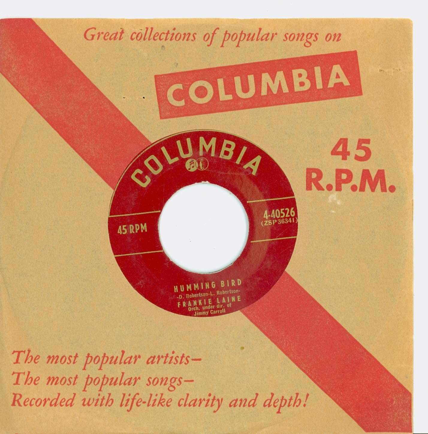 Humming Bird Reservation My Little One - Records 5 ☆ popular Laine Columbia 1 Frankie