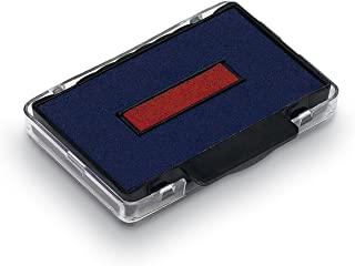 Trodat Swop Pads 6/53/2 Replacement Ink Pads - Red/Blue