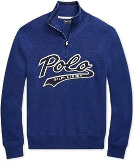 Men's Half Zip Pullover Long Sleeve Cotton Sweater