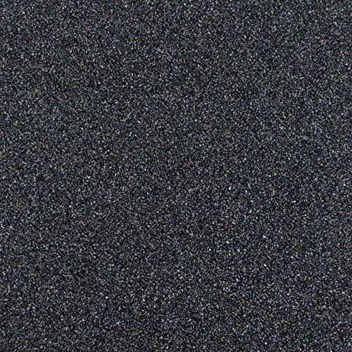 Eurosand Sandsack, 0,1-0,5 mm, 1 kg - Schwarz