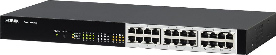 砂利二層スナッチヤマハ スマートL2スイッチ 24ポート SWX2200-24G