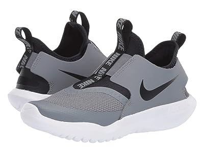 Nike Kids Flex Runner (Little Kid) (Cool Grey/Black/White) Kids Shoes