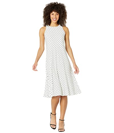 LAUREN Ralph Lauren Polka Dot Jersey Maxi Dress Women