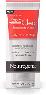 neutrogena rapid clear stubborn acne mask