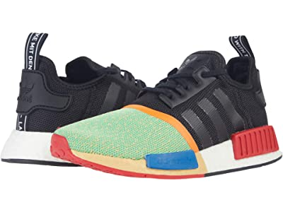 adidas Originals Kids NMD_R1 J (Big Kid) (Core Black/Core Black/Lush Red) Kids Shoes