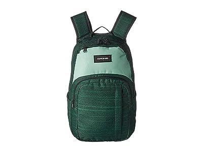 Dakine 25 L Campus Medium Backpack (Green Lake) Backpack Bags