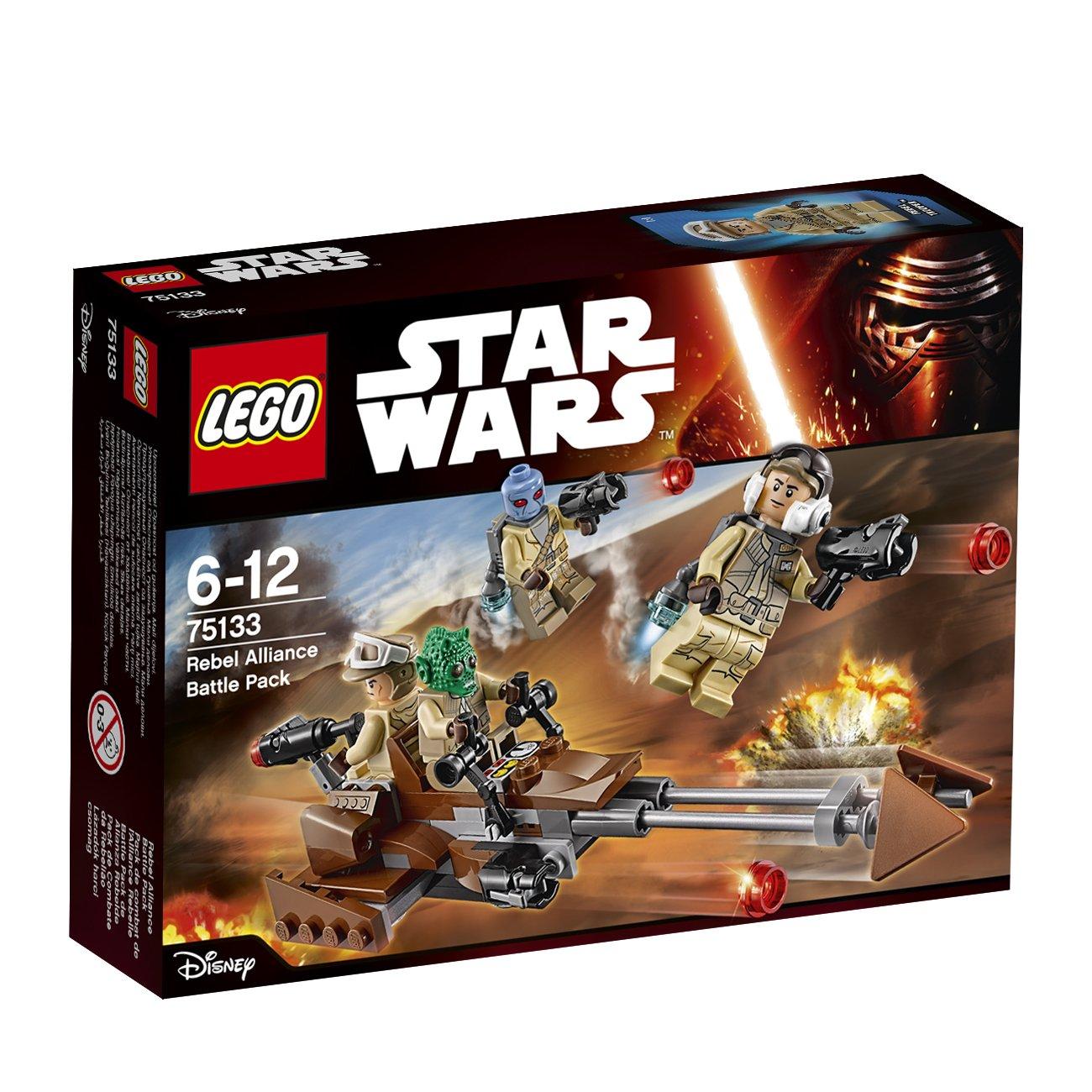 LEGO STAR WARS - Pack de Combate rebelde, Multicolor (75133 ...