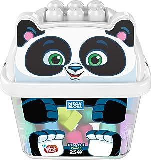 Mega Bloks Pandablok, juguete de construcción para bebé +1 año (Mattel GCT47)