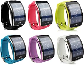 Cute Replacement Wristband Bracelet/Wireless Smartwatch Accessory Band Strap with Secure Buckle for Samsung Galaxy Gear S R750 Smart Watch - Free Size…