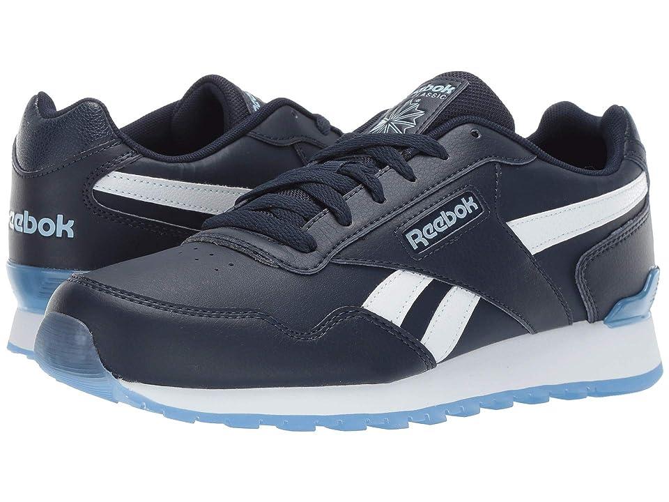 81becfc77e4 Reebok CL Harman Run Sclp (US-Collegiate Navy Denim Glow Ice White) Men s  Shoes