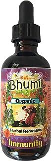 Bhumi Organic Immunity Glycerite Tincture with Organic Elderberries Oregon Grape Root Echinacea Licorice Rosehips Cinnamon...