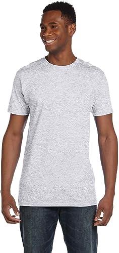 4980 Lot de 2 t-shirts pour hommes Nano 1 cendres + 1 jaune 3XL