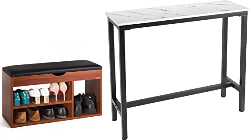 """lowest Mr IRONSTONE Shoes Bench & lowest 47"""" online Bar Table online sale"""