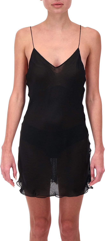 100% Silk Chiffon Slip Dress Chemise Negligee Bridal Nightie Babydoll for Women Luxury Lingerie Sleepwear