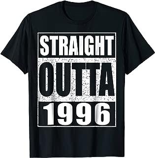 Straight Outta 1996 T-Shirt 23rd Birthday Gift Shirt