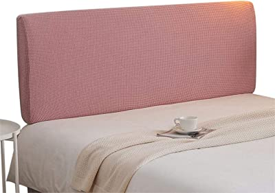 Headboard Slipcover Stretch Bed Headboards Cover Head Protector Pink