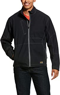 Men's Big and Tall Canvas Softshell Jacket