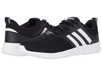 adidas Running QT Racer 2.0 (Black/White/Grey) Women