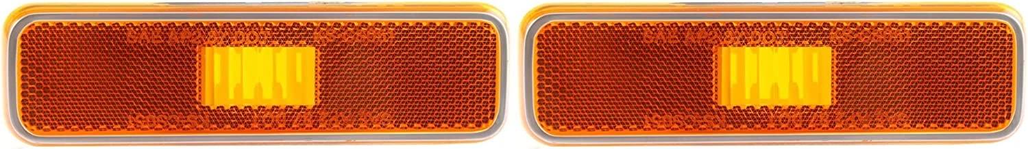 DAT AUTO PARTS Spring new work one after another Side Marker Light Replacement Set Two Ranking TOP20 of Assembly