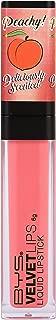 BYS Scented Velvet Matte Liquid Lipstick, Peaches N Cream