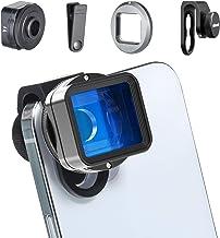 Anamorphic Phone Camera Lens for iPhone - ULANZI 1.55XT Filmmaking Smartphone Lens 2.8:1 Ratio Mobile Widescreen Cinimatic...