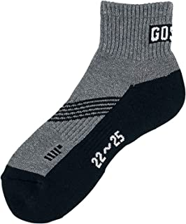 ゴーセン(GOSEN) スポーツ ソックス ショート レディース 22-25cm F2003