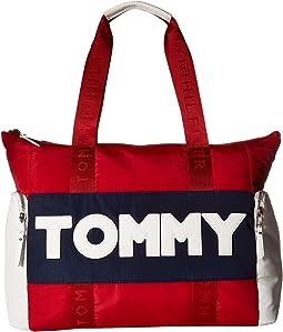 Tommy Nylon Tote