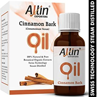 Allin Exporters Cinnamon Bark Oil - Pure , Natural & Undiluted - 15 Ml