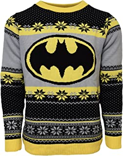mens batman christmas sweater