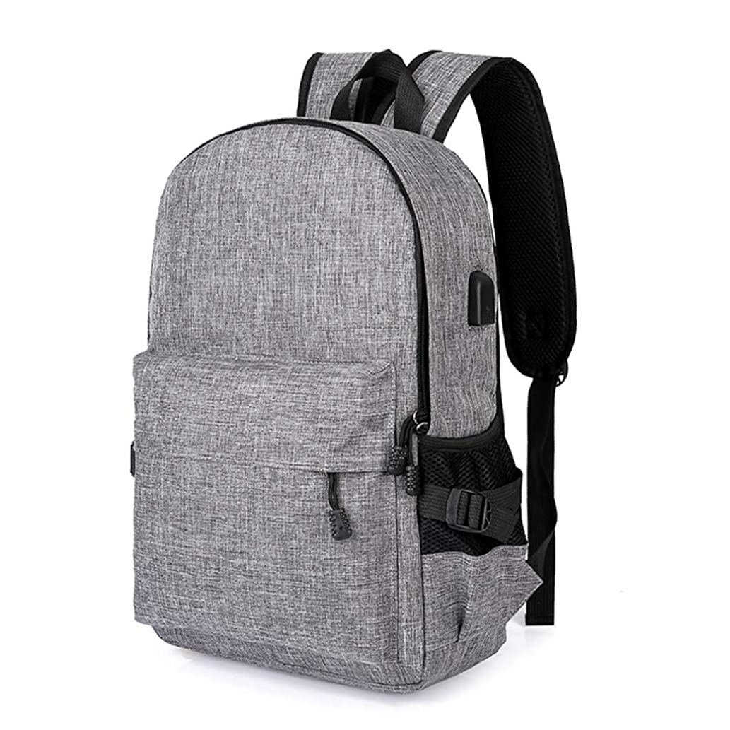 Oucan Men?Business Laptop Casual Backpack Student Bag Outdoor Travel Backpack with USB