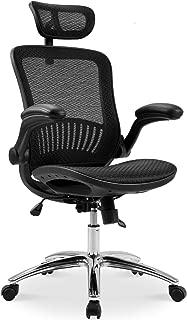 Merax Ergonomic Mesh Adjustable Home Office Chair, Black