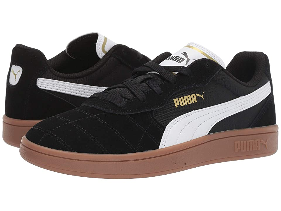 Puma Kids Astro Kick (Big Kid) (Puma Black/Puma White/Puma Team Gold) Kid