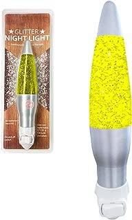 Glitter Night Light (Yellow)