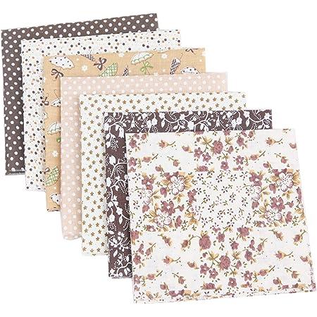 """Moda quilting craft tissu de coton /""""quilt blocks bleu de fat trimestre bundle x 4"""