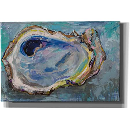 Oyster By Melissa Lyons Canvas Art Wall Picture Museum Wrapped With Black Sides 15 X 19 Inches Posters Prints