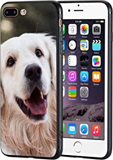 iPhone 7 Plus Case,iPhone 8 Plus Cases TPU Back Shell Pattern Designed with Soft TPU Bumper Case Fashion for Boys & Girls Apple iPhone 7/8 Plus Cases (Smiling Golden Retriever)