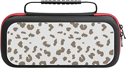 $26 » Leopard Pattern Design Case Compatible with Switch Case Protective Carry Bag Hard Shell Storage Bag Portable Travel Case f...