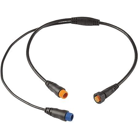 Garmin 010-12445-33 12Pin+8 Pin Transducers,Black,Small