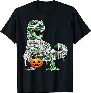 Halloween Pumpkin Dinosaur T Shirt Gift for Kids Boys Girls T-Shirt