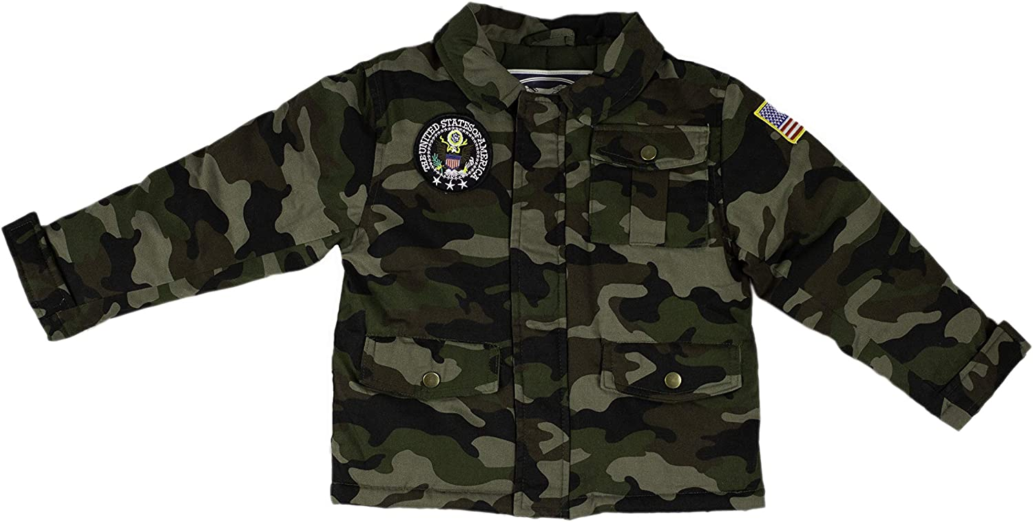 Up and Away Children's Medium-Weight Jacket With Free Shipping New Camouflage Two All items free shipping